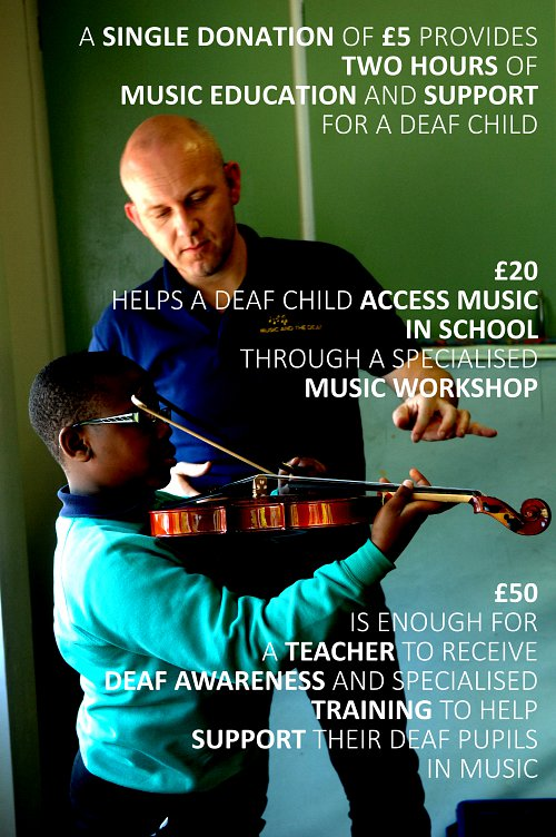 Donate to Music and the Deaf