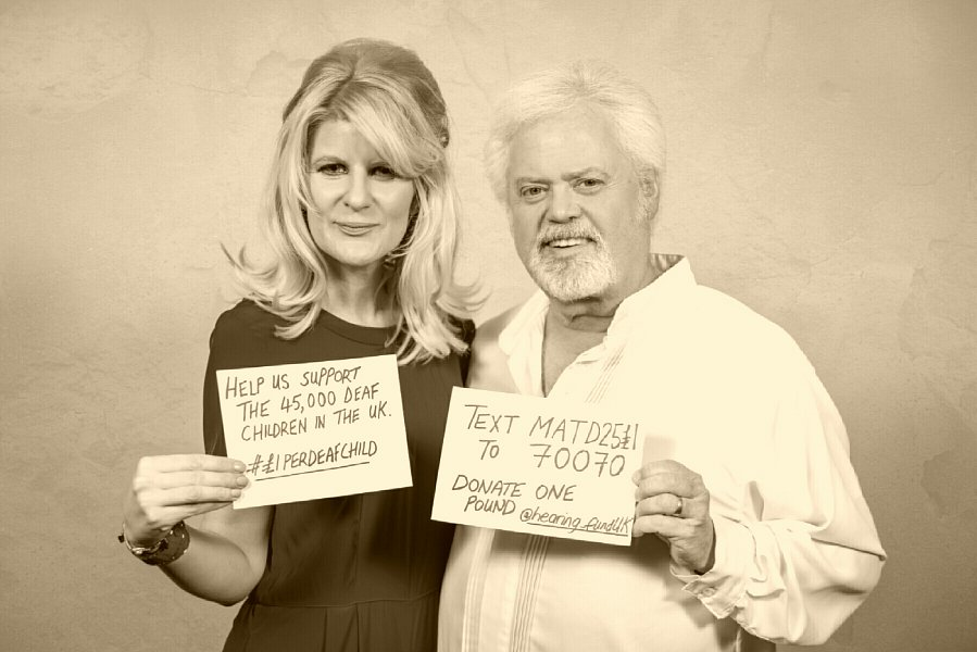 Merrill Osmond and Jo Milne