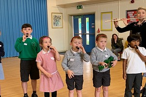 Children in Leeds Sign Up for More Music Since Attending Workshops
